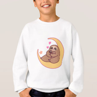 Moon Mama Sloth and Babies Sweatshirt