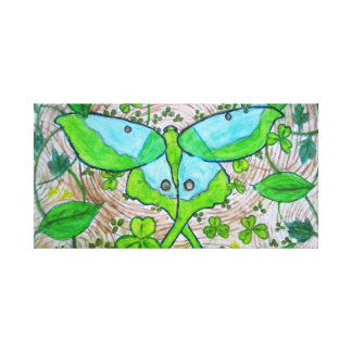 Moon Moth Canvas Print