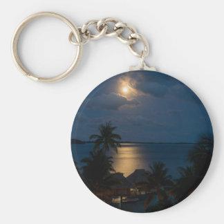 Moon one will bora will bora key ring