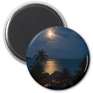 Moon one will bora will bora magnet