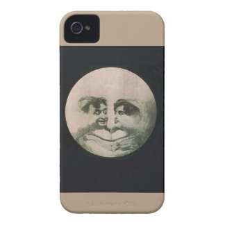 Moon Optical Illusion iPhone 4 Cover