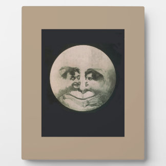 Moon Optical Illusion Plaque
