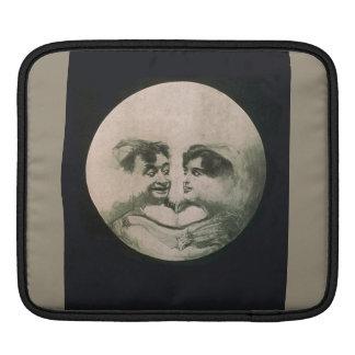 Moon Optical Illusion - So Fun iPad Sleeve