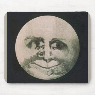 Moon Optical Illusion - So Fun Mouse Pad