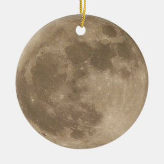 Moon Ornament Full Moon Decoration Personalized