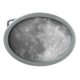 Moon Oval Belt Buckles