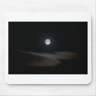 Moon over Clouds Mouse Mat