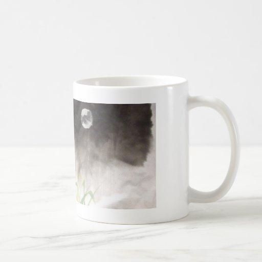 Moon over Grass Mug