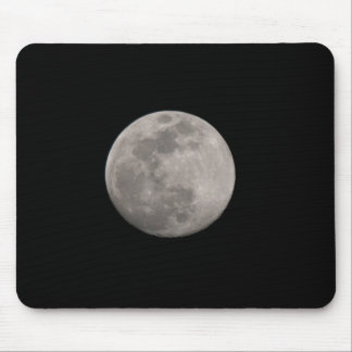 Moon over Lake Wales Mouse Pad