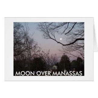 MOON OVER MANASSAS CARD