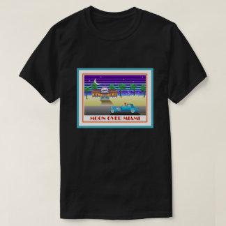 Moon Over Miami Aqua T-Shirt