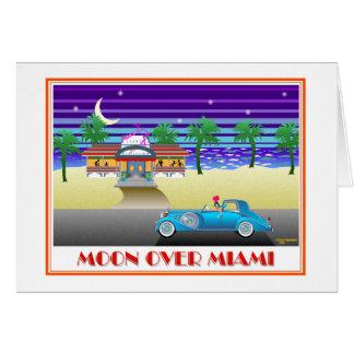 Moon Over Miami Card