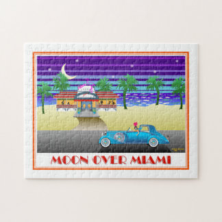 Moon Over Miami Jigsaw Puzzle