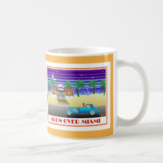 Moon Over Miami Orange Coffee Mug