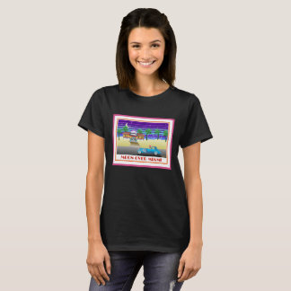 Moon Over Miami Pink T-Shirt