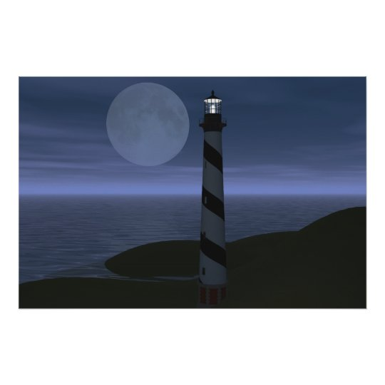 Moon Over My Hatteras Poster