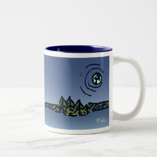 Moon over Picnic Island Mug