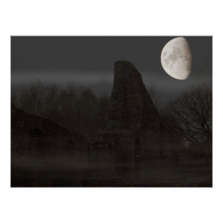 moon over ruin poster