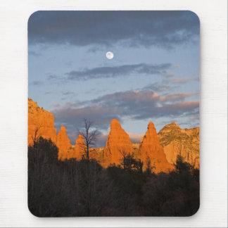 Moon Over Sedona Mousepad 2225