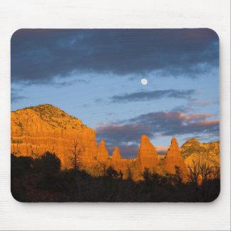 Moon Over Sedona Mousepad 2226
