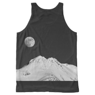 MOON OVER SHASTA All-Over PRINT TANK TOP