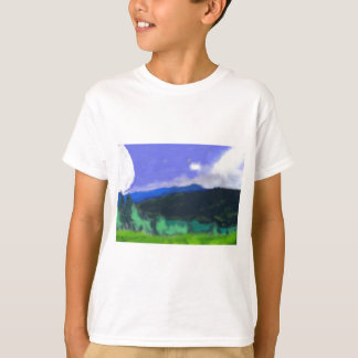 Moon Over the Land 2 Art T-Shirt