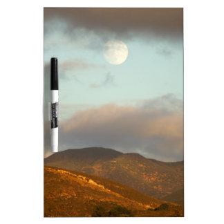 Moon over Vineyards Dry Erase Board