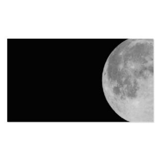 Moon Pack Of Standard Business Cards