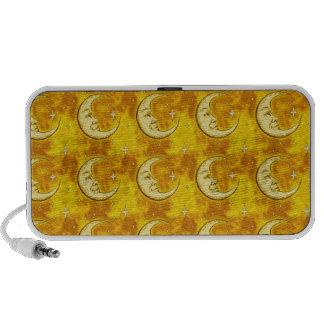 Moon Pattern Notebook Speakers