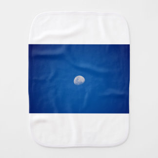 MOON PHASE DAY TIME SKY BURP CLOTH