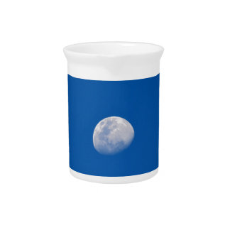 MOON PHASE DAY TIME SKY PITCHER