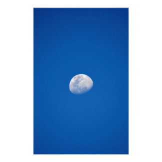 MOON PHASE DAY TIME SKY STATIONERY