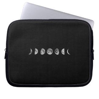 Moon phase laptop sleeve