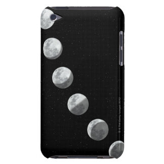 Moon phases barely there iPod covers