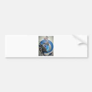 Moon Pheonix Bumper Sticker