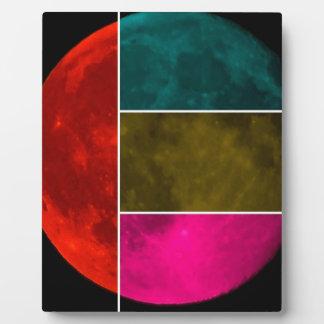 Moon Photo Plaques