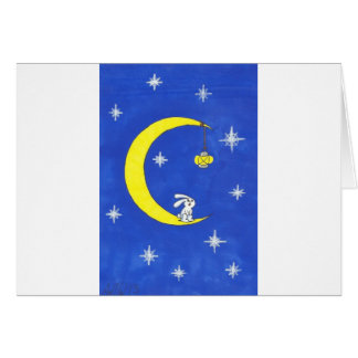 MOON RABBIT AND THE LANTERN GREETING CARDS