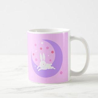 Moon rabbit mug