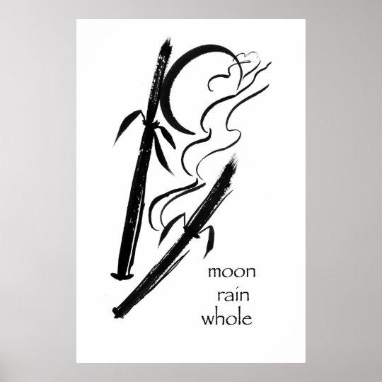 moon rain whole poster