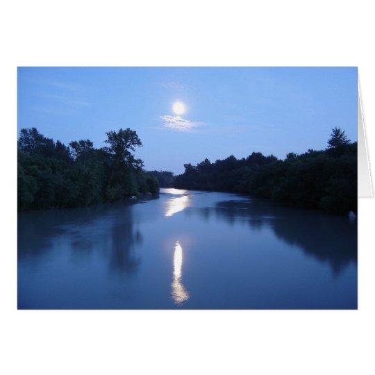 Moon Rise Card