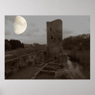moon ruin poster