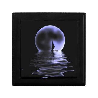 Moon Sailboat Gift Box