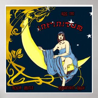 Moon Shuttle Poster