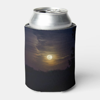 Moon Silhouette Can Cooler