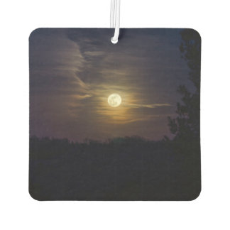 Moon Silhouette Car Air Freshener