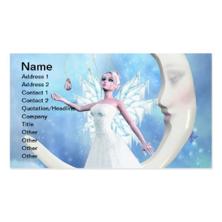 Moon Sky Fairy Pack Of Standard Business Cards