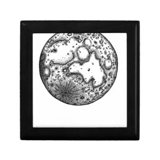 Moon Small Square Gift Box