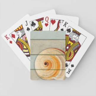 Moon Snail Playing Cards