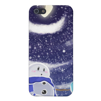 Moon Snow iPhone Case iPhone 5 Cases