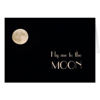 Moon Solitude Card